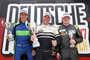 Brands Hatch Indy race 1 podium winners
