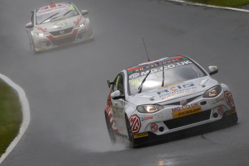 Triple Crash at Croft BTCC